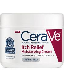 CeraVe Itch Relief Moisturizing Cream Tub 12 oz